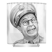 Phil Silvers Shower Curtain
