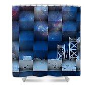 Philadelphia 3d Shower Curtain