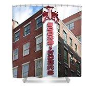 Philadelphia - Bookbinders Shower Curtain
