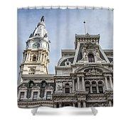 Philadelphia City Hall #2 Shower Curtain