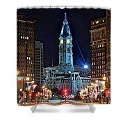 Philadelphia Downtown Shower Curtain