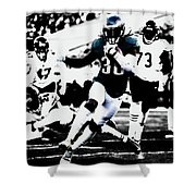 Philadelphia Eagles 5b Shower Curtain