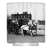 Philadelphia Fire Department Engine - C 1905 Shower Curtain