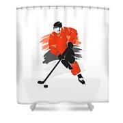 Philadelphia Flyers Player Shirt Shower Curtain