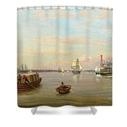 Philadelphia Harbor Shower Curtain