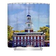 Philadelphia Landmark Shower Curtain