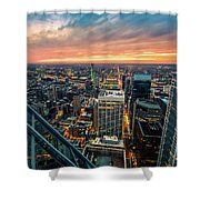 Philadelphia Perspective Shower Curtain