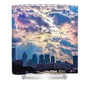 Philadelphia Sky Shower Curtain
