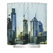 Philadelphia - Still Growing Shower Curtain