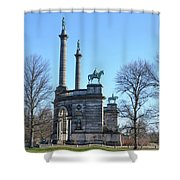 Philadelphia - The Smith Memorial Arch Shower Curtain