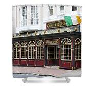 Philadelphia's Famous Irish Pub Shower Curtain