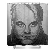 Philip Seymour Hoffman Shower Curtain