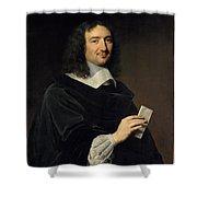 Philippe De Champaigne    Jean Baptiste Colbert 16191683 Shower Curtain