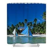 Philippines, Boracay Isla Shower Curtain