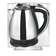 Philips Electric Kettle Shower Curtain