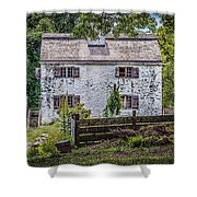 Philipsburg Manor House - Thru The Woods Shower Curtain