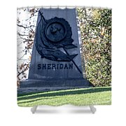 Phillip Henry Sheridan Shower Curtain
