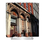 Philly Building Shower Curtain