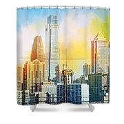 Philly From Drexel Hill Shower Curtain