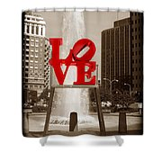 Philly Love Shower Curtain