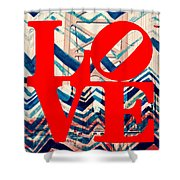 Philly Love V17 Shower Curtain