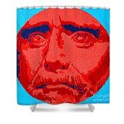 Philosopher - Thales Shower Curtain