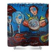 Phish For Red Rocks Amphitheater Shower Curtain