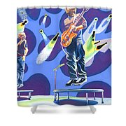 Phish Tramps Shower Curtain