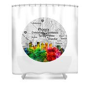 Phoenix Arizona 12rd Shower Curtain