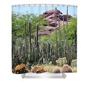 Phoenix Botanical Garden Shower Curtain