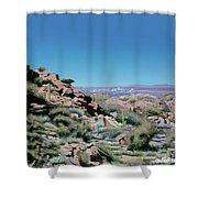 Phoenix Circa 1990 Shower Curtain