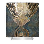 Phoenix From The Stone Shower Curtain