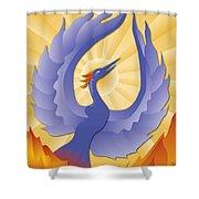 Phoenix Rising Shower Curtain