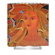 Phoenix Woman Shower Curtain