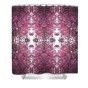 Photo 0800 Fractal D2 Autumn Tree Leaves Shower Curtain