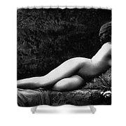 Photo Erotique D'une Femme Nue Shower Curtain