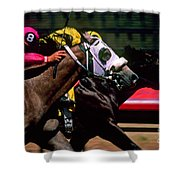 Photo Finish Shower Curtain