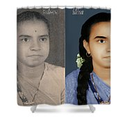 Photo Restoration Services Image Outsource India Shower Curtain