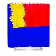 New Flag Shower Curtain