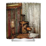 Photographer - The Fun Starts Tonight Shower Curtain by Mike Savad
