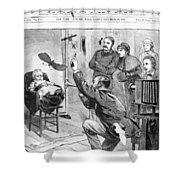 Photographer, 1882 Shower Curtain
