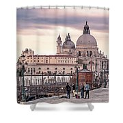 Photographers In Action Shower Curtain