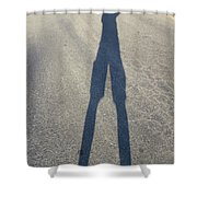 Photographers Shadow Shower Curtain