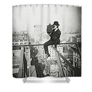 Photographing Nyc Above 5th Avenue - 1905 Shower Curtain