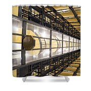 004 - Photon Cannon Shower Curtain