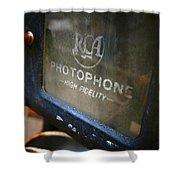 Photophone Shower Curtain