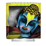 Photoshop Painting Shower Curtain