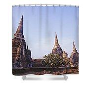 Phra Si Sanphet Shower Curtain