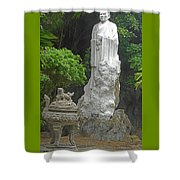 Phu My Statues 5 Shower Curtain