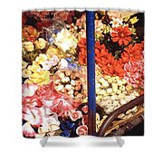 Flowers In Goa Shower Curtain